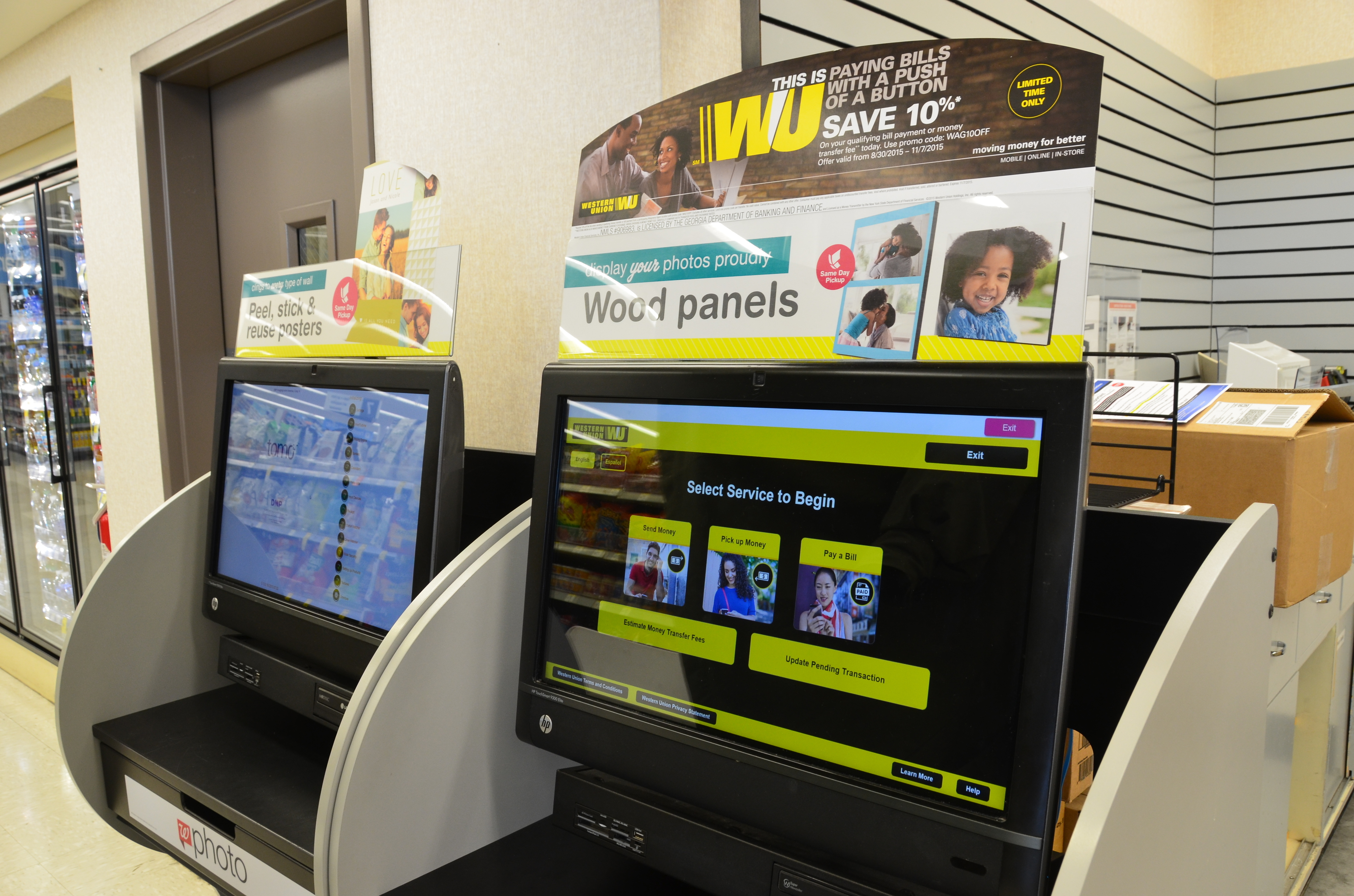 Western Union Bill Payment Kiosk Now At Walgreens