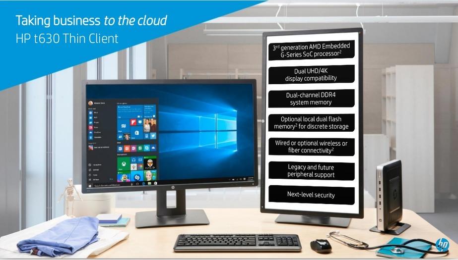 HP t630 Thin Client VMworld Slideshow Presentation
